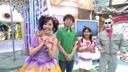 久住小春 月島きらり おはスタ 2008/7/16