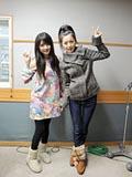 道重さゆみ・久住小春 今夜もうさちゃんピース 2009/12/2